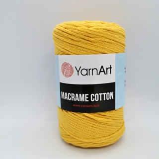 Macrame Cotton žltá 764